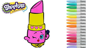 shopkins lippy lips coloring pages 6 nice coloring pages for kids