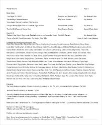 Art Resume Sample by Makeup Artist Resume 5 Free Pdf Word Documents Download Free