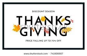 thanksgiving autumn sale poster fall season stock vector 741906907