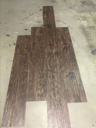 5 vinyl handscraped flooring with install 2 09sf houston