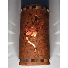 Copper Wall Sconce Lights Copper Outdoor Wall Lighting Bellacor