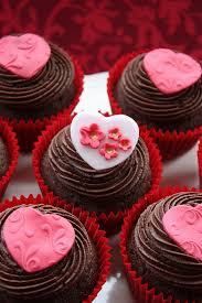 personalised chocolate cupcakes valentines day gifts best 25 cupcakes ideas on valentin deko