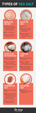sea salt and table salt top 6 essential health benefits of sea salt
