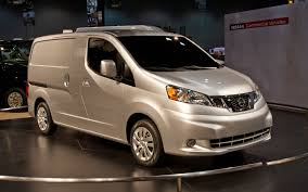 nissan commercial logo 2012 nissan nv200 first look 2012 chicago auto show motor trend