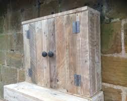 Wooden Bathroom Wall Cabinets Bathroom Wall Cabinet Etsy Uk