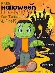 free halloween printables kids totschooling toddler