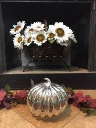 blog commenting sites for home decor fall blog hop fall home tour fall home decor silver pumpkin hearth 2