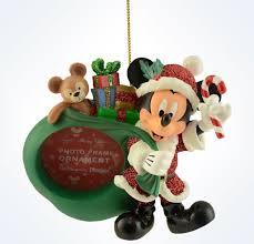 disney parks mickey as santa duffy photo frame ornament ne