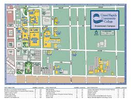 Map Of Grand Rapids Michigan by Many Places To Park Around Grcc To Avoid Early Semester Traffic