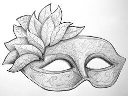 drawn mask art pencil color drawn mask art
