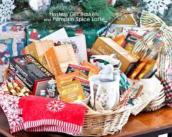 how to make gift baskets hostess gift baskets and pumpkin spice latte roti n rice