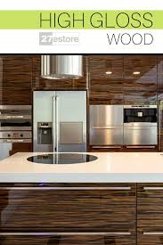 best wood veneer for kitchen cabinets high gloss wood cabinet doors by 27store kitchen design