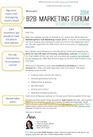 sample of marketing letters to business irresistible invitation emails for webinars and events