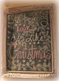 Pinterest Chalkboard by Priscillas It U0027s Beginning To Look A Lot Like Christmas Chalkboard