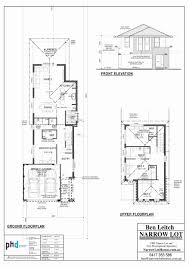narrow lot plans narrow floor plans luxury narrow lot house plans with front