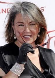 glamorous styles for medium grey hair love the grey hair you go roseanne barr glamorous grey