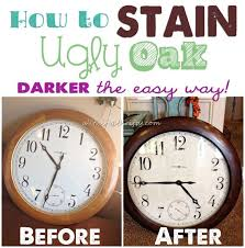 how to stain your cabinets darker how to stain oak wood darker easily all things thrifty