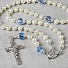 baptism rosary holy family baptism rosary boy the catholic company