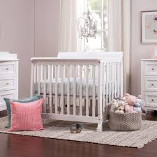 Bedding For Mini Crib by Kalani 2 In 1 Convertible Mini Crib