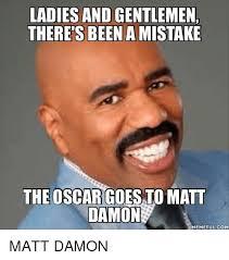 Funny Oscar Memes - 25 best memes about damon meme damon memes