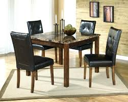 Black Square Dining Table Marble Top Table Black Square Counter Height Dining Set With Gray
