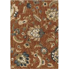 Nature Area Rugs Shop Allen Roth Cliffony Indoor Nature Area Rug Common 5 X