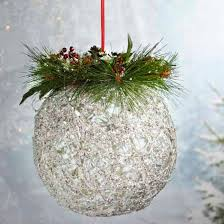 jumbo artificial pine and snow grapevine
