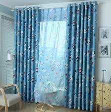 2018 doraemon children curtains blue kids room curtains cartoon