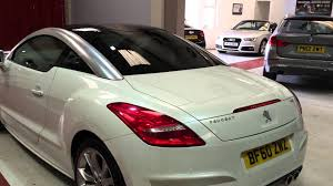 peugeot car dealership for sale 2010 peugeot rcz 1 6 thp gt auto coupe cars2you used