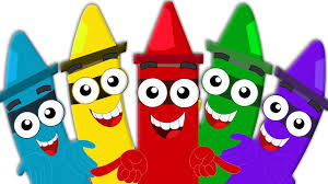 Color by Crayons Color Song Learn Colors For Babies And Kids Colors For