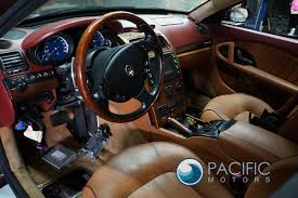 maserati spyder interior front right passenger door interior trim panel maserati