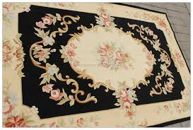 Rugs 4x6 5x8 Aubusson Area Rug Shabby French Chic Home Decor Wool Carpet