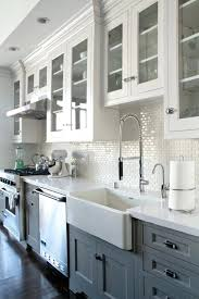 country gray kitchen cabinets colored kitchen faucets oak wood bright white door dark gray kitchen