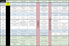 16thursday schedule dmps instructional technology
