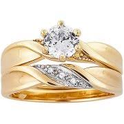 Wedding Rings At Walmart by Cz Rings