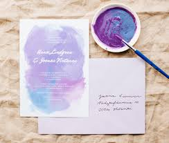 free printable water color wedding invitations best day