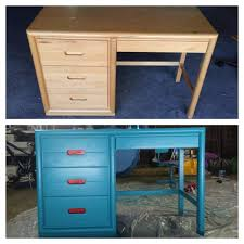 an old desk into a brand new desk