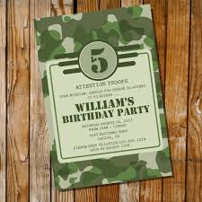army birthday invitations army party invitation army camo instantly downloadable and