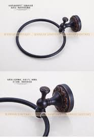 Bathroom Accessories Bronze by Euro Style Wall Mount Antique Bronze Towel Ring Bathroom