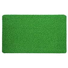Fake Grass Outdoor Rug Amazon Com Synturfmats Premium Indoor Outdoor Green Artificial