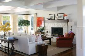 Pb Comfort Sofa Eclectic Living Room With Laminate Floors By Andrea Schumacher