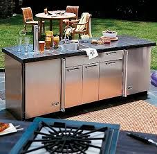 meubles cuisine inox meuble évier en acier inox pour jardin vsbo 24 w x 30 d viking