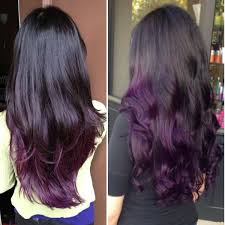 black hairstyles purple purple and black hair hairstyle for women man
