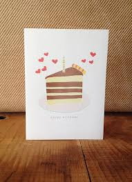 happy birthday cake slice handmade birthday cards pop shop america