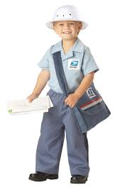 mailman costume for kids mail carrier costume sprout wish list