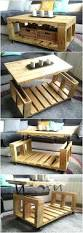 repurposed wood pallets lift top coffee table pallet ideas