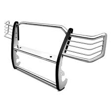 jeep front grill guard aries one piece grille guard