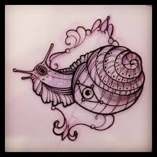 34 latest snail tattoo designs