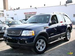 Ford Explorer Blue - 2005 ford explorer xlt 4x4 in dark blue pearl metallic b61914