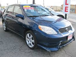 toyota matrix xrs 2004 toyota matrix xr east coast auto sales u0026 service